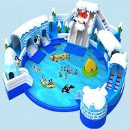 冰雪世界水滑梯