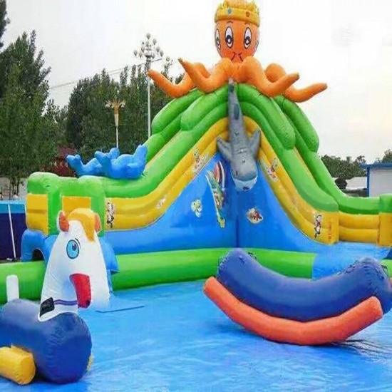 章鱼主题水上乐园